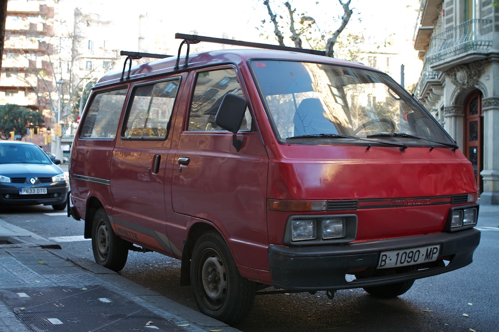What Is A Class Action Lawsuit >> THE STREET PEEP: 1985 Nissan Vanette