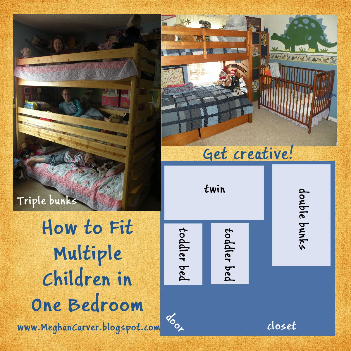 Meghan Carver How To Fit Multiple Children In A Bedroom -4887