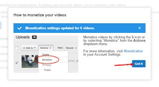 Cara menerapkan Iklan Adsense Di YouTube