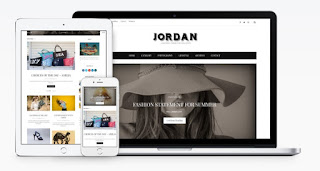 jordan blogger template 2018