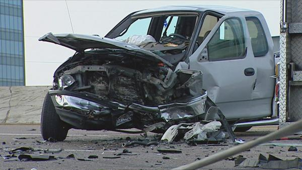 Vehicle Accident News Stories & Articles: Wrong-way driver triggers