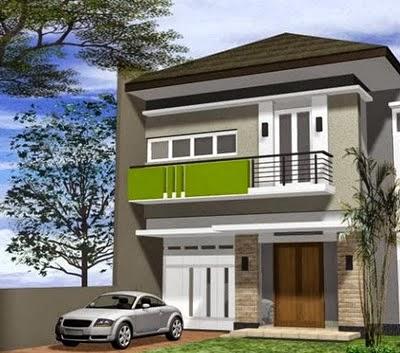 desain rumah minimalis 2 lantai type 60 ~ gambar rumah idaman