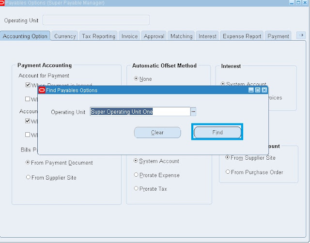 expense report templates in oracle r12