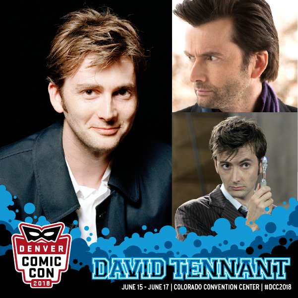 David Tennant - Denver Comic Con fan convention