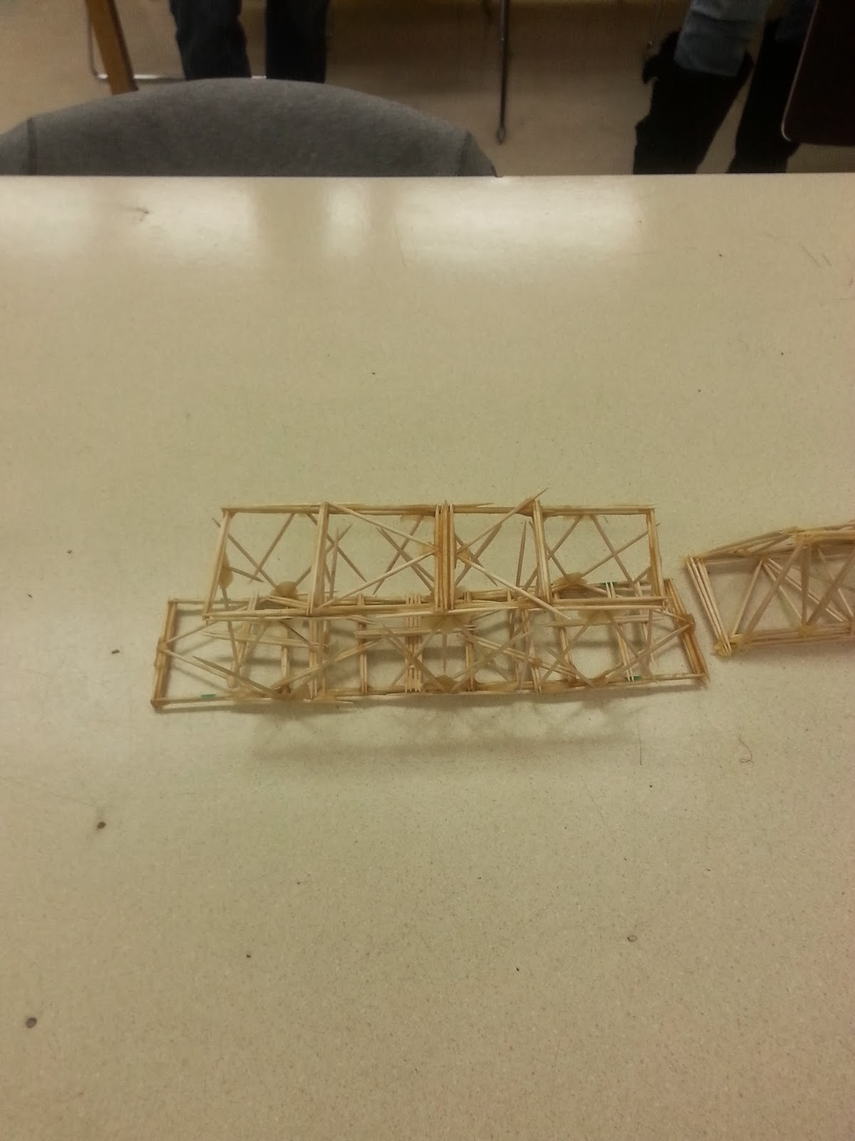 The Cool Science Dad Toothpick Bridge Time