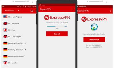 تطبيق  ExpressVPN كامل للأندرويد, تطبيق ExpressVPN مكرك, تطبيق ExpressVPN عضوية فيب