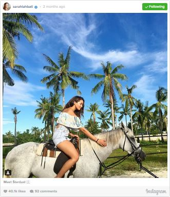 9 Times Sarah Lahbati Took Our Breath Away. You Shouldn't MIss #3!