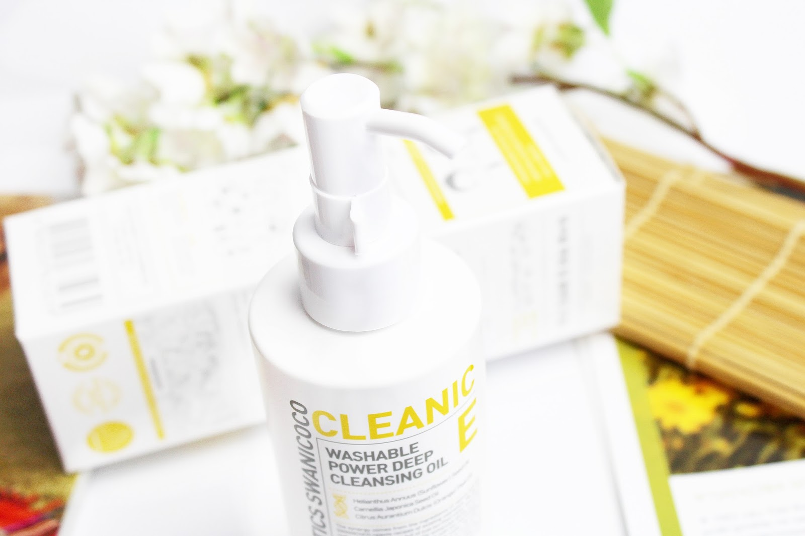 Swanicoco, Washable Power Deep Cleansing Oil