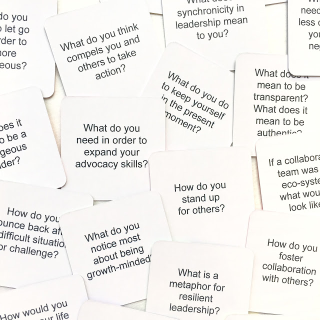 Leadership Cards Hello Strategies Prompt Examples