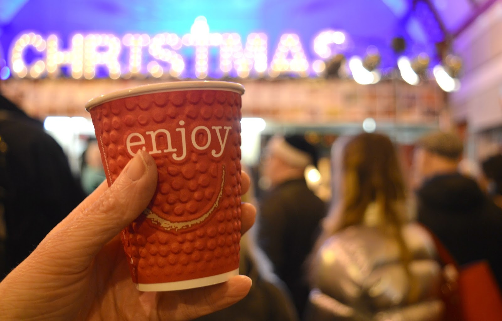 The Newcastle Christmas Night Market at Grainger Market