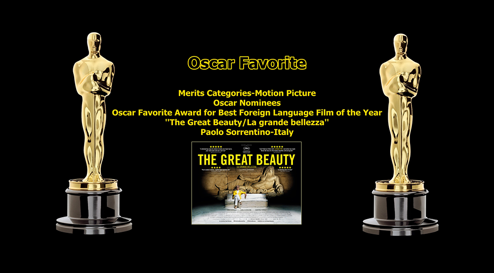 oscar favorite best foreign language film award the great beauty