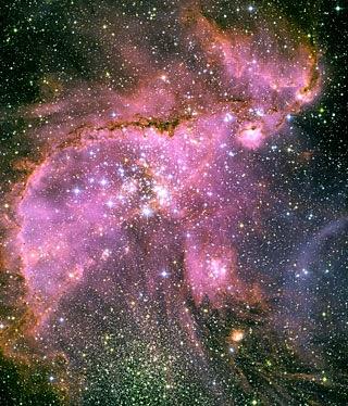 صورة إلتقطها المقراب الفضائي هابل HUBBLE