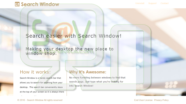 Search Window Results (Adware)