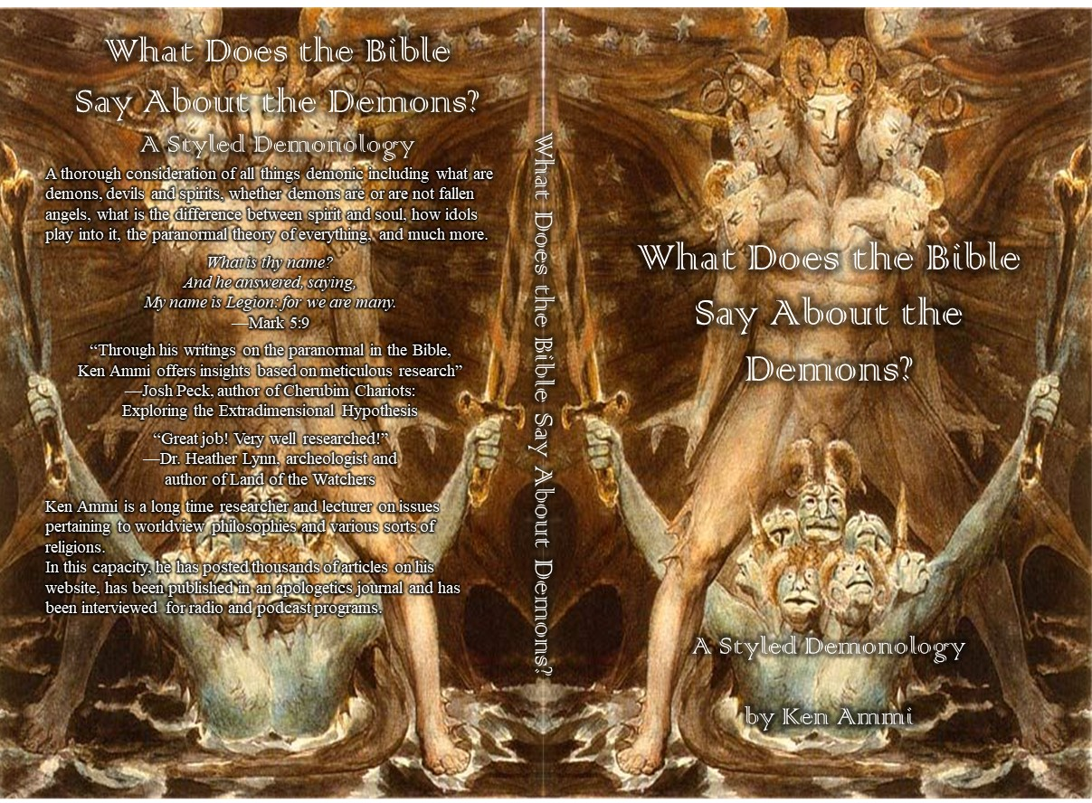 """New book """"What Does the Bible Say About Demons? A Styled"""