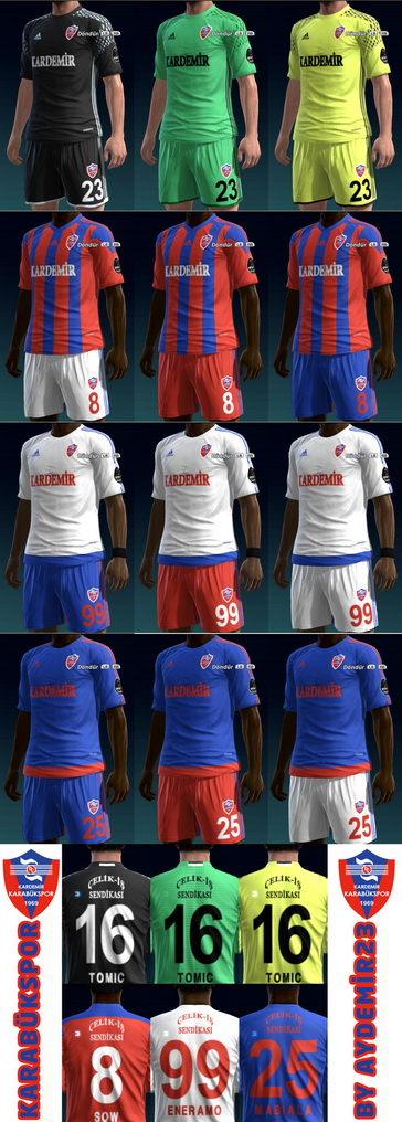 KARABUKSPOR 2016/17 KITS BY AYDEMIR23