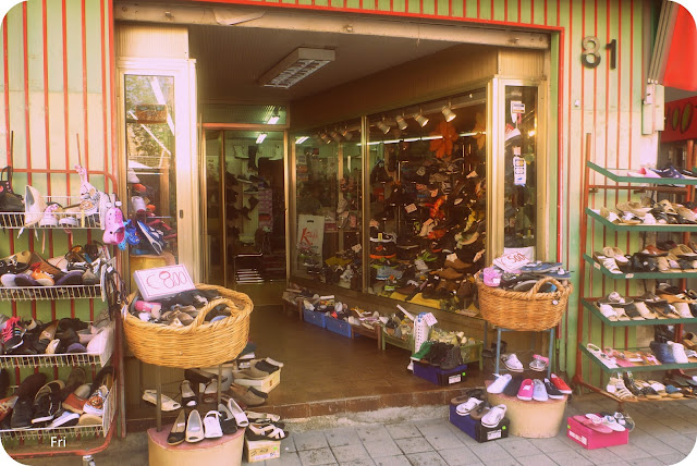 Shoe shop, Nicosia, Cyprus