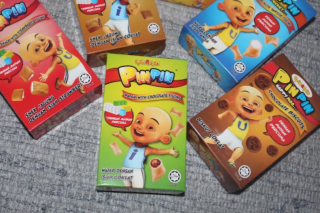 Biskut PinPin – 6 Perisa Kegemaran Kanak-kanak Dengan Mainan Percuma