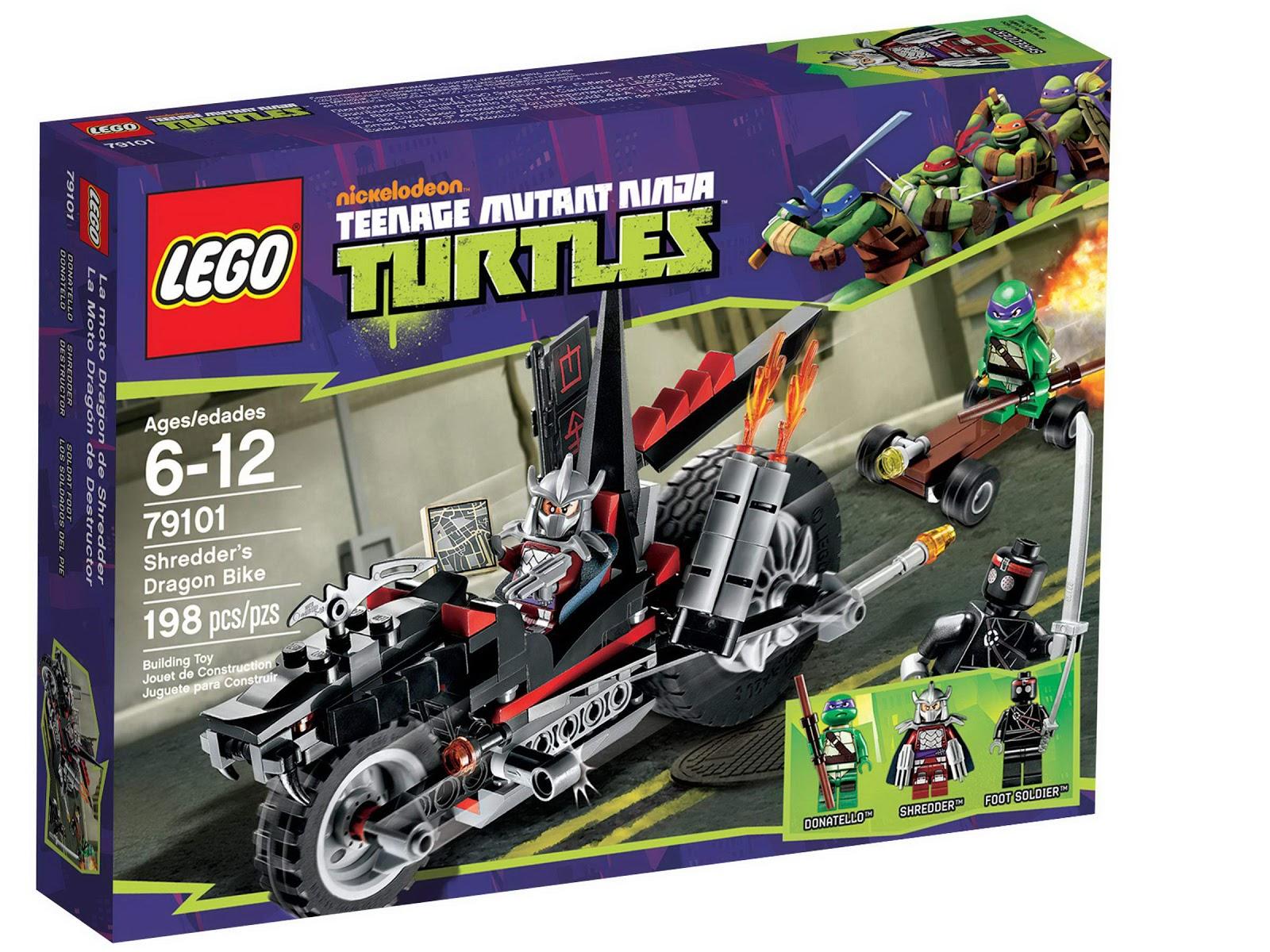 The minifigure collector lego and mega bloks teenage for Lago tartarughe