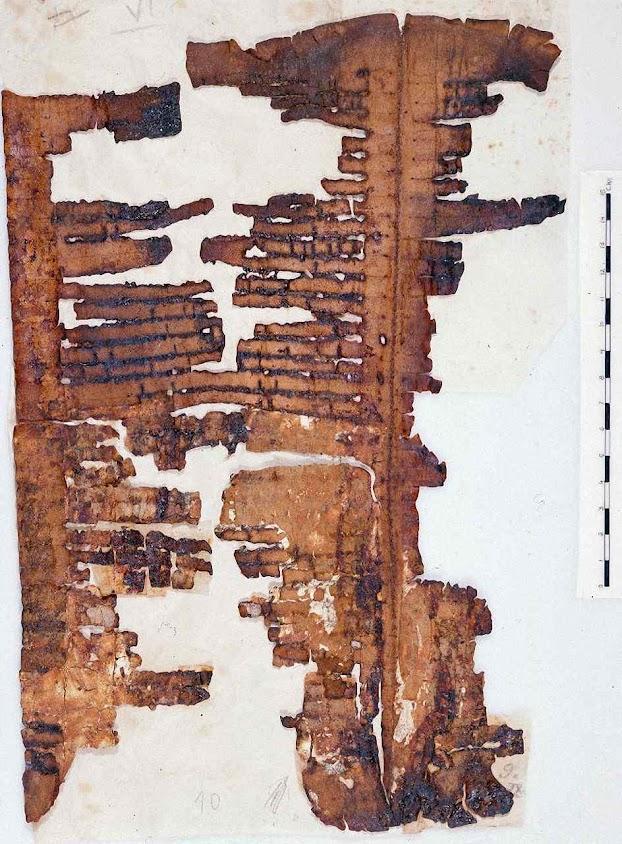 Pergaminho escrito há máis de 2.000 anos e encontrado em Qumran descreve o dilúvio.