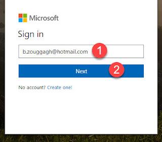 تسجيل الدخول لهوتميل hotmail
