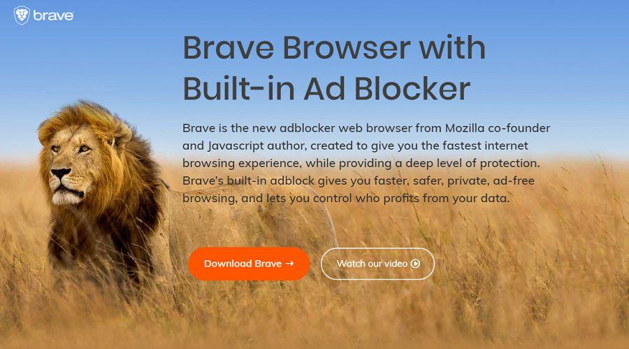 blokir iklan lebih mudah dan cepat dengan brave browser