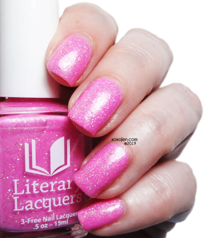 xoxoJen's swatch of Literary Lacquers Veiled in Roses