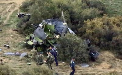 Το σοκαριστικό ατύχημα του Bell HU-1Η «Χιούι»