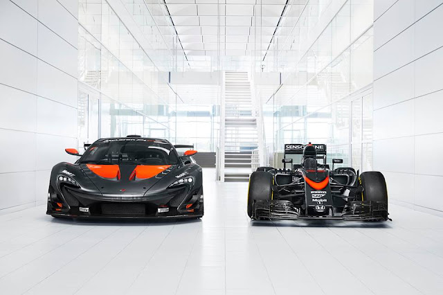 McLaren P1 GTR Spec Match With McLaren F1 Car Is Stunning