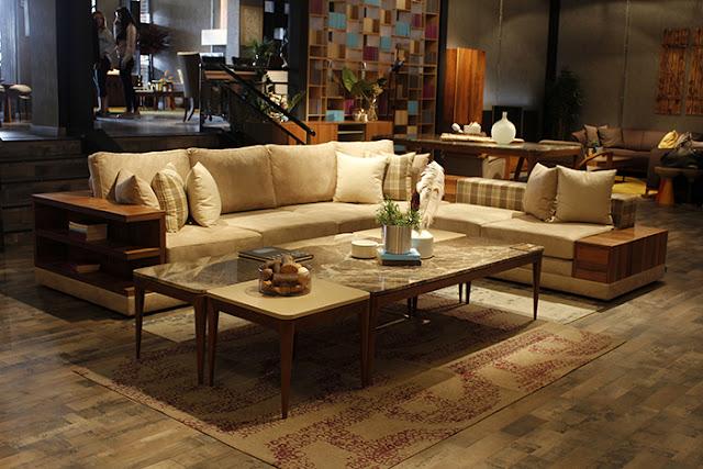 Loda Mobilya modern salon takımı