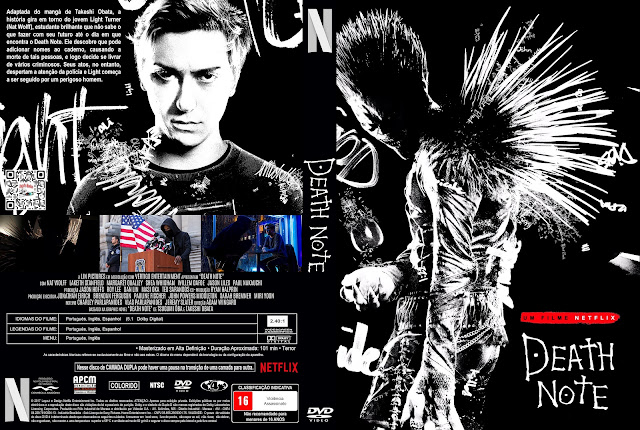 Capa DVD Death Note [Exclusiva]