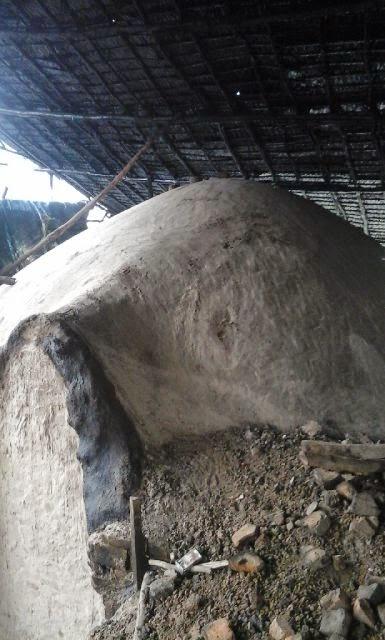 Dapur Arang Dan Stok Kayu Alaban Hutan