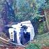 Camión cae a abismo y deja dos heridos de gravedad en Otuzco