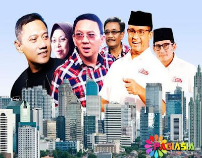 Melihat Kembali Perbandingan Perolehan Suara dari Ketiga Pasangan Calon di Pilgub DKI Jakarta