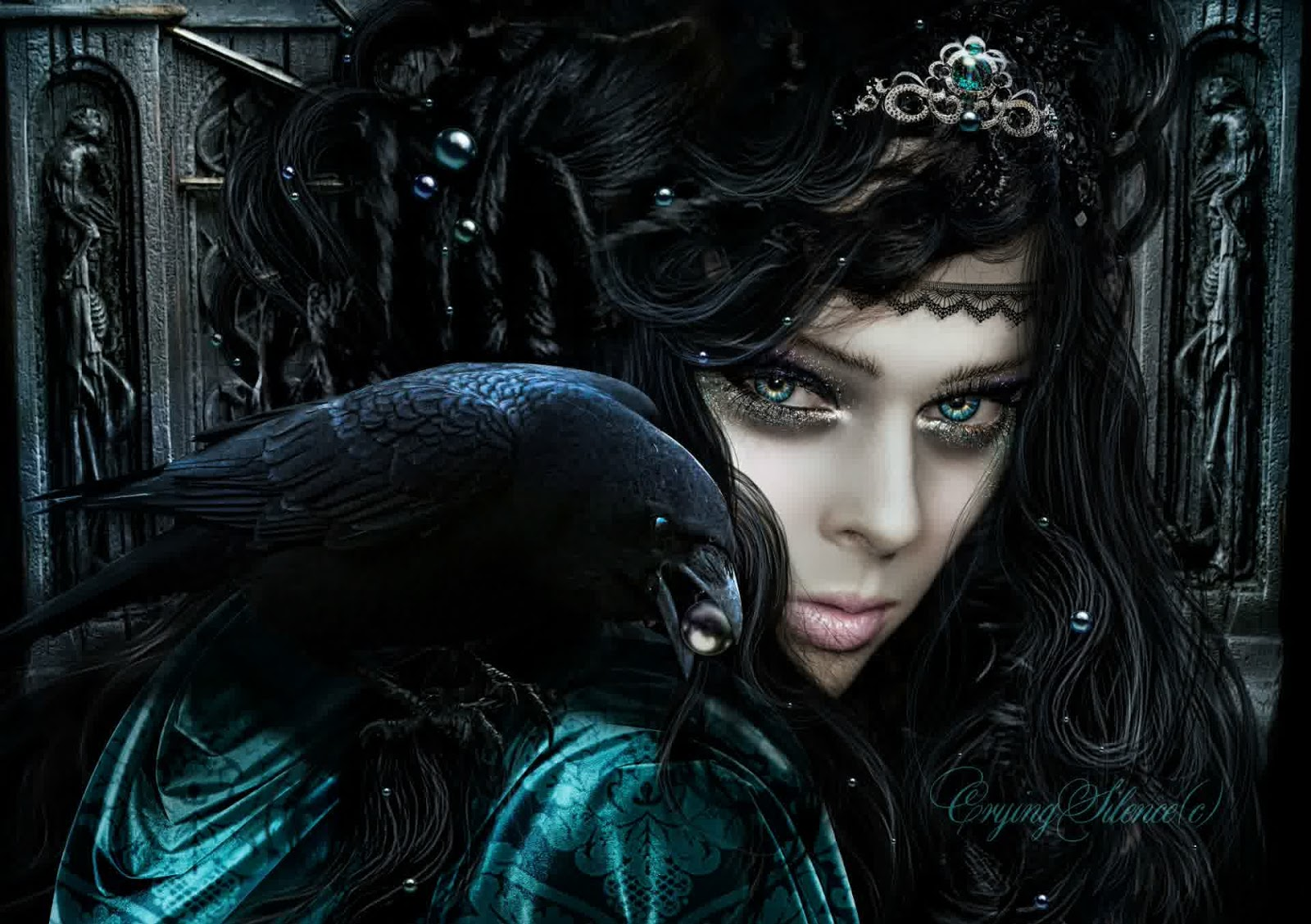 Scary Wallpapers Sexy Girl Gothic Dark Wallpaper