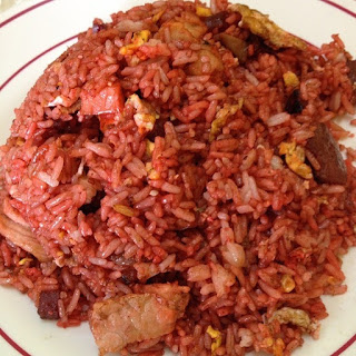 nasi beras merah