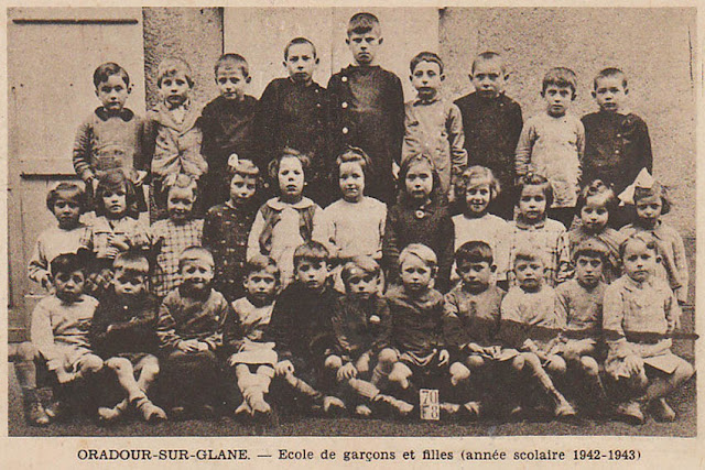Classe des garçons d'Oradour