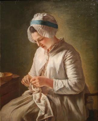 Femme Cousant, Françoise Duparc