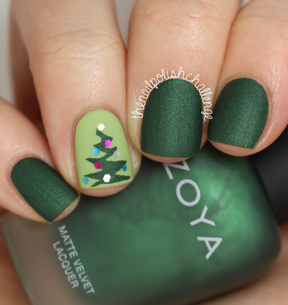 Xmas Nail Colours: The Nail Polish Challenge: Holiday Nail Art Looks With