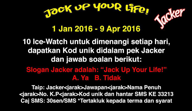 Peraduan Jacker Jack Up Your Life !