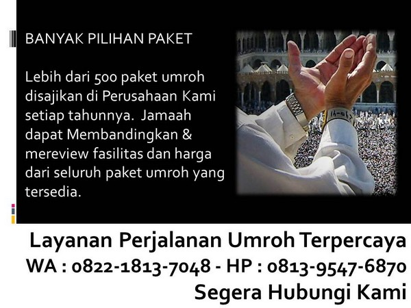 travel umroh yang recommended
