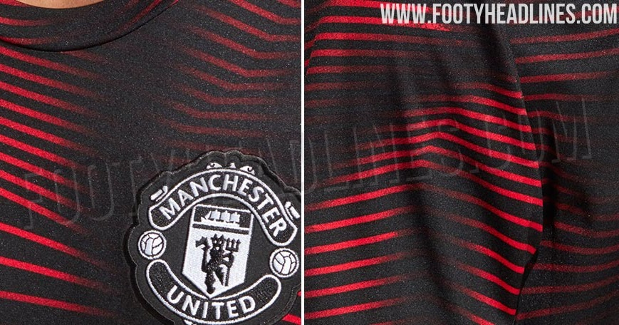 Manchester united 2019 kit leaked celebrity