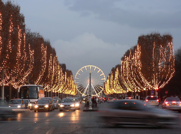 Tourism Champs Elysees