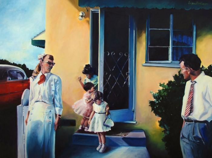 Американская художница. Francene Christianson