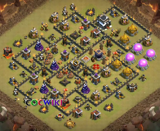 good th9 war base layout