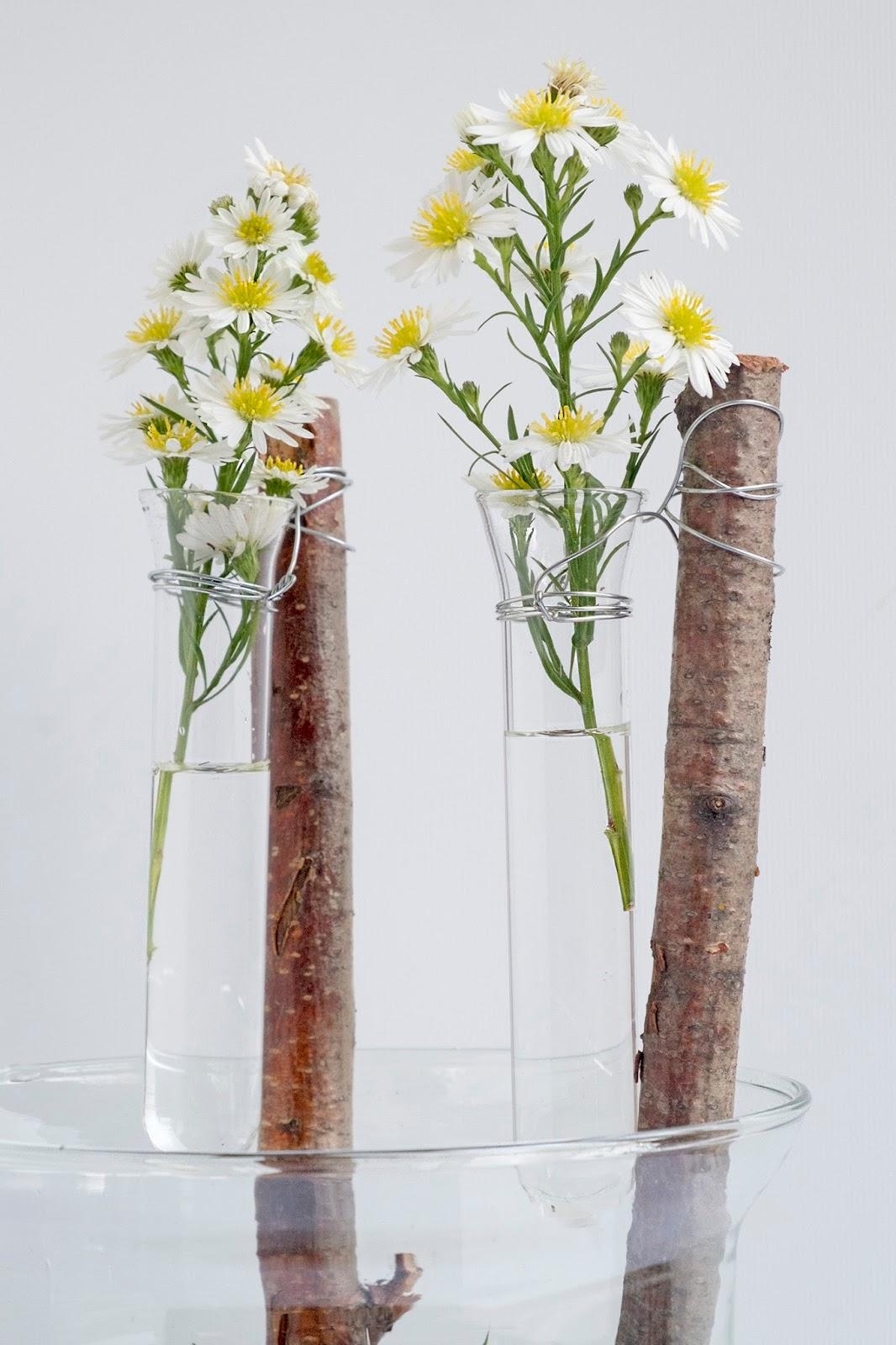 Diy: Terrarium met vetplant en bloemetjes