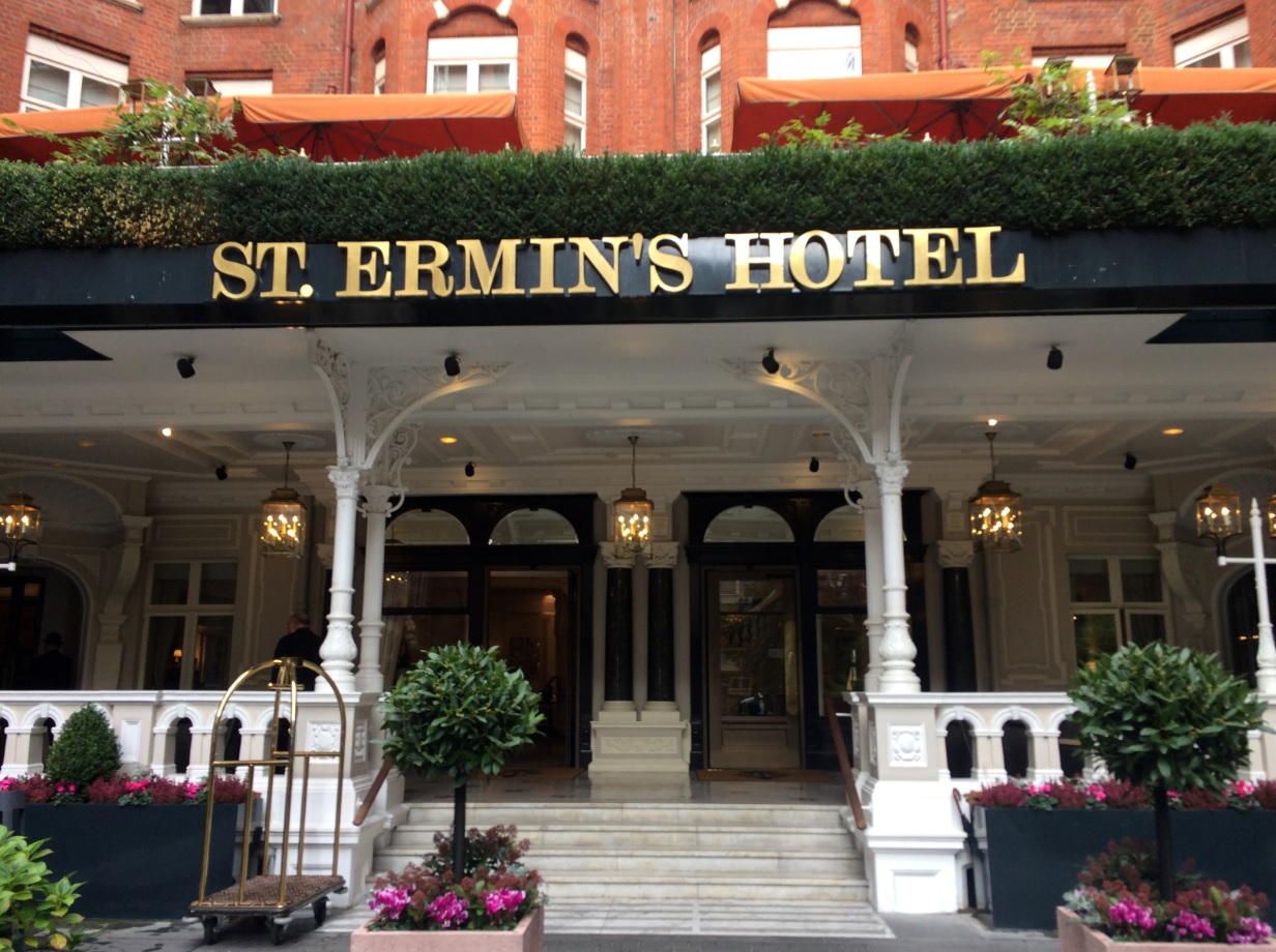 St Ermins Hotel London Breakfast
