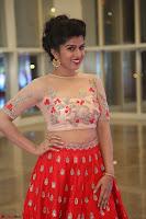 Mahima in beautiful Red Ghagra beigh transparent choli ~  Exclusive 003.JPG