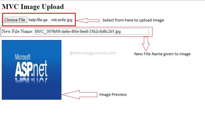 Jquery MVC: Upload Image using jquery MVC - ASP NET | C# | MVC | EF