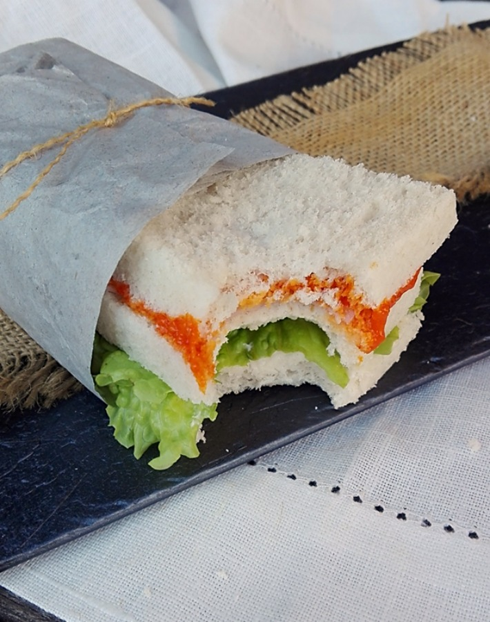 Sandwich con salsa picante ¡Repetirás!