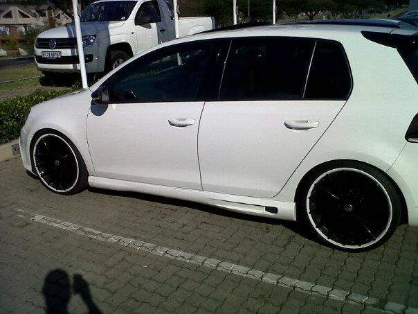 capextremepower golf 6 gti with bodykit. Black Bedroom Furniture Sets. Home Design Ideas